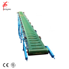 Industrial mobile rubber portable belt conveyor