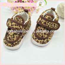 2015 новый дизайн звезда шаблон красочные мягкой подошве кожаный леопард детская обувь