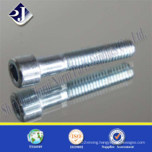 Socket Cap Screw with Zinc
