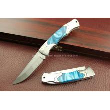 Cuchillo plegable del acero inoxidable 420 (SE-G297)
