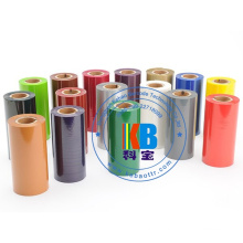 Compatible Zebra Printer Wax Resin Thermal Transfer Printer Ribbon Customized Size