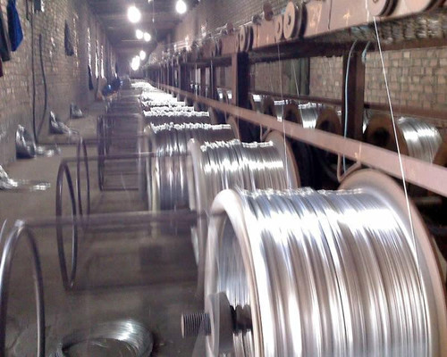 galvanized wire production