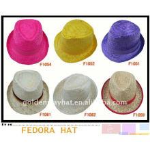 Wholesale cheap promotional fedora hat