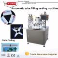 Volle automatische Aluminiumrohr-füllende Verschließmaschine