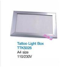 Arte del arte del LED gráficos del tatuaje que traza la caja ligera para el dibujo