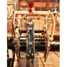 Oil Pipe Welding Used Automatic Sand Blasting and Derusting Machine