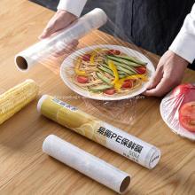 Película protectora de plástico elástico para paletas