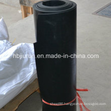 Black Abrasion Resistant SBR Rubber Floor Sheet