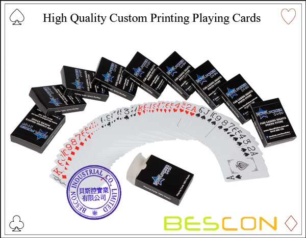 High Quality Custom Printing Playing Cards-2