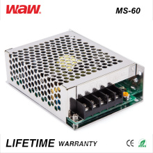 Ms-60 SMPS 60W 12V 5A Pilote LED Ad / DC