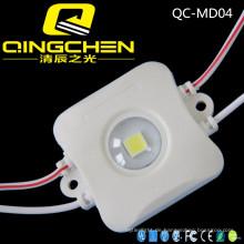 100-120lm hohe Helligkeit wasserdichte hohe Leistung 1W Injection LED Modul für Werbung Zeichen