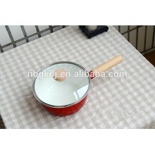 sauce pan enamel coating with wonderful quality