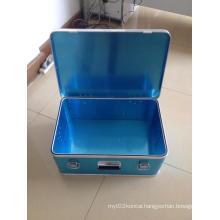 Top Grade Professional Silver Aluminum Attach Case Aluminum Laptop