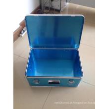 Top Grade Profissional Alumínio Prata Anexar Case Aluminum Laptop