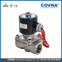 2W Series stainless steel or brass or pvc Solenoid Valve
