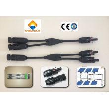 Mc4 conector de cabo solar fotovoltaico Y-Branch