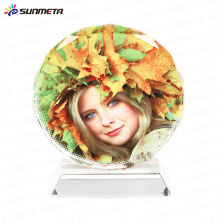 Sunmet sublimation crystal photo frame souvenir gift---manufacturer