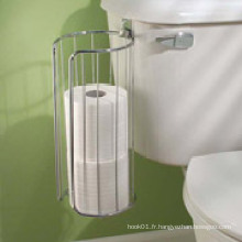 Interdesign Classico Over-The-Tank Papier hygiénique 3 Roll Holder