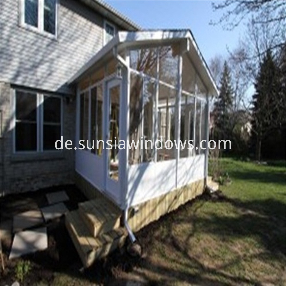 Tempered Insulated Glass Sun Room