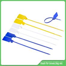 Уплотнение безопасности (JY-410S), тянуть жесткие пластиковые пломбы
