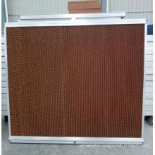 China Manufacture Livestock Farm wall mounted panel evaporative air cooler spare parts poultry magic cooling pad