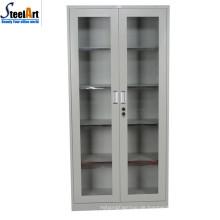 2018 heißer Verkauf gute Qualität Büro verwendet zwei Tür Glas Aktenschrank