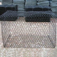 Malla de alambre revestida de Gabion del PVC para la jaula de piedra