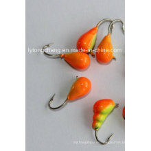 2014 New Style Factory Price Tungsten Ice Jig Head Naranja