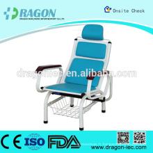DW - chaise de transfusion de luxe de MC104 chaise de dialyse d'hôpital de transfusion
