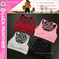 Custom Made Wholesale Sexy Yoga Clothing Cross Back Sports Bra