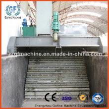 Máquina de adubo orgânico de chapa de corrente