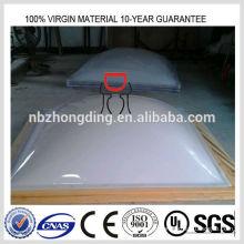 Clarabóia de policarbonato de opala de 3 mm / folha de policarbonato de opala de 3 mm