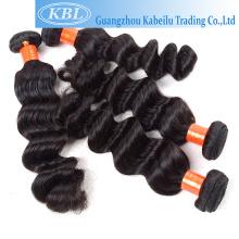 Coiffures de postiche de stock de best-seller pour les cheveux, cheveux de drwan simple, extension de cheveux tresse molle de torsion d'effroi