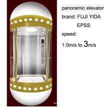 Semi-Circle Type Panoramic Elevator Aprovado pela SGS para Slae