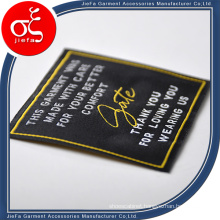 Custom Soft Brand Woven Garment Label/Satin Woven Label