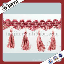 cheap tassel fringe for curtain/pillow/table