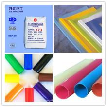 Dióxido de Titanio Rutlie TiO2 para Tubería de PVC (R218)