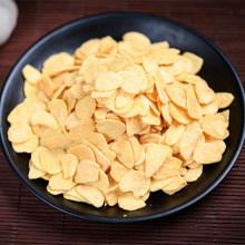Flocons d'ail frits ail déshydraté avec matériel de racine