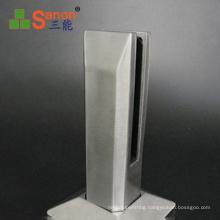 SS201 /304 Stainless Steel Glass Rail Spigot For Stair Frameless Glass Balustrade