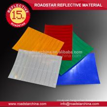 Microprismatic acrylic type 8 years reflective sheeting