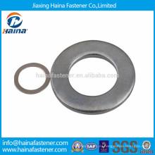DIN125 JIS B 1256 оцинкованная углеродистая сталь плоская гладкая шайба в ассортименте