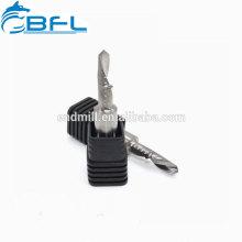 BFL Твердосплавные спиральные однофланцевые фрезы Пластиковые режущие инструменты, сделанные в Китае