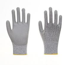Cheap Durable PU Cut Resistant Work Gloves