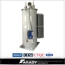 O pólo da fase monofásica montou o regulador imitado da Etapa-Tensão 13.8kv óleo