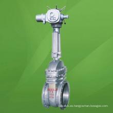 Válvula de compuerta motorizada API 150lb (GAZ940)