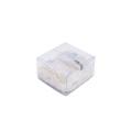 Жесткая складная упаковочная коробка из прозрачного ацетата из ПВХ