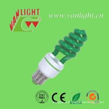 T3 Cor verde Xt de lâmpada de poupança de energia acende (VLC-CLR-XT-série-G)