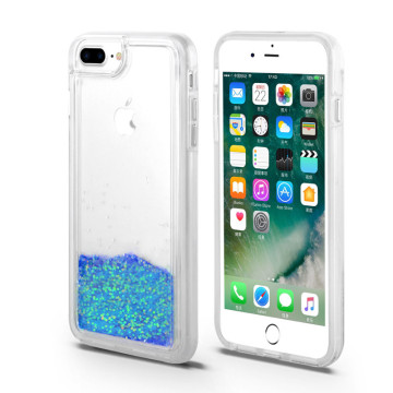 Gorgeours Bling Bling Quick Sand Phone Case para iPhone8