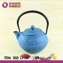 Venda quente 1.2L Grande Bule De Ferro Fundido De Metal Com Coador De Chá