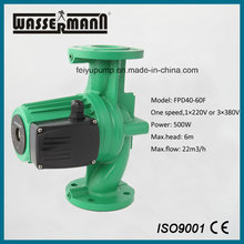 Dn40 High Temperature Circulation Pump with Flanged Ports